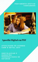 Apostila TRE PR 2017 Tecnico Area Administrativa