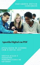 Apostila IPSM 2017 - ECONOMIA - Analista Gestão Municipal