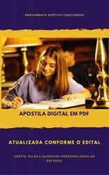 Apostila ALERO 2018 - Psicologia - Analista Legislativo