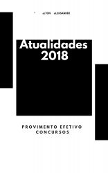 ATUALIDADES 2018 para Concursos