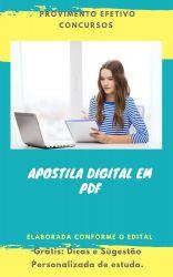Apostila NUTRICIONISTA - SESMA 2018 Belém do Pará