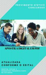 Apostila Terapeuta Ocupacional - Prefeitura Araçatuba 2018
