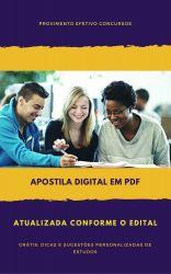 Apostila Assistente Social Júnior - Foz do Iguaçu 2018
