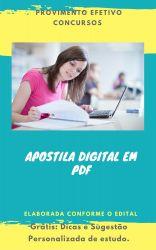 Apostila UFPB 2019 Técnico em Assuntos Educacionais