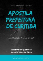 Apostila Prefeitura de Curitiba - Engenheiro de Segurança 2019