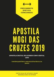 Apostila PREFEITURA MOGI DAS CRUZES Psicólogo 2019