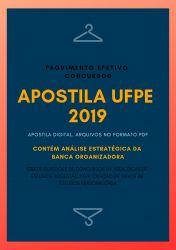 Apostila UFPE ADMINISTRADOR 2019