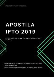 Apostila IFTO PSICÓLOGO 2019