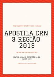 Apostila Auxiliar Administrativo CRN 3 Região 2019