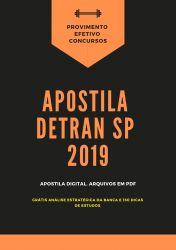 Apostila Detran SP AGENTE DE TRÂNSITO 2019