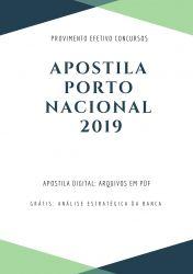 Apostila Prefeitura Porto Nacional - Nível Superior 2019