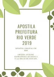 Apostila Prefeitura Rio Verde - Nível Superior 2019
