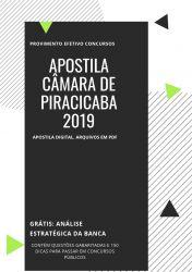 Apostila Jornalista Câmara Piracicaba 2019