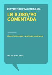 Lei 8.080/90 Comentada para Concursos
