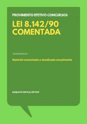 Lei 8.142/90 Comentada para Concursos