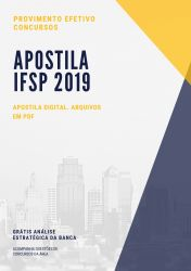 Apostila IFSP CONTADOR 2019