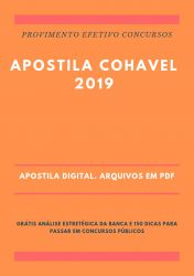 Apostila COHAVEL RECEPCIONISTA 2019