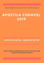 Apostila COHAVEL Técnico de Segurança 2019