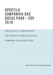 Apostila CDP Administrativo Operacional  2019 Técnico Portuário