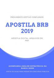 Apostila BRB Médico do Trabalho 2019