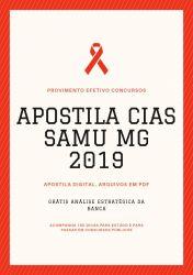Apostila CIAS SAMU MG Auxiliar Serviços Gerais 2019