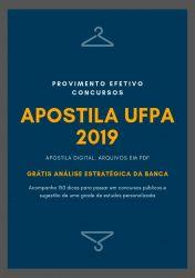 Apostila UFPA FARMACÊUTICO 2019