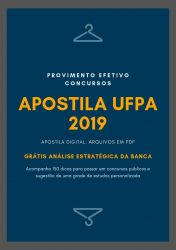 Apostila UFPA NUTRICIONISTA 2019