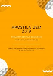 Apostila UEM Fonoaudiólogo 2019