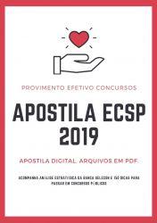 Apostila ECSP PEDAGOGO HOSPITALAR 2019