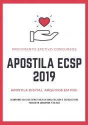 Apostila ECSP Secretário Executivo 2019