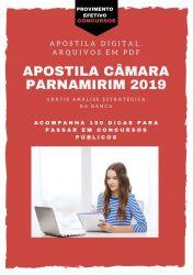 Apostila Câmara de Parnamirim Agente Administrativo 2019