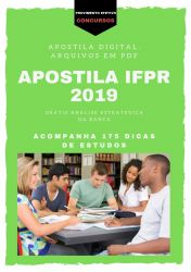 Apostila PSICÓLOGO IFPR 2019