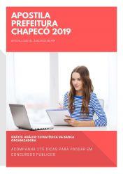 Apostila FONOAUDIÓLOGO Prefeitura Chapecó 2019