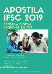 Apostila PEDAGOGO IFSC 2019