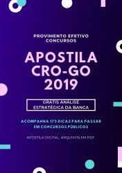 Apostila Auditor de Controle Interno CRO GO 2019