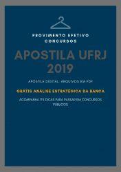 Apostila ADMINISTRADOR UFRJ 2019