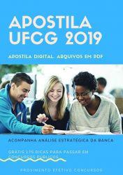 Apostila UFCG ECONOMISTA 2019