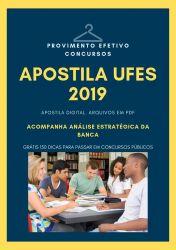 Apostila UFES JORNALISTA 2019