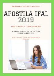 Apostila IFAL PSICÓLOGO 2019