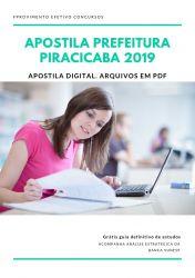 Apostila Técnico de Enfermagem Prefeitura de Piracicaba 2019