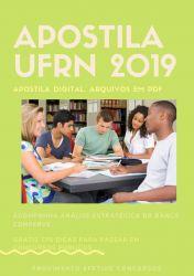 Apostila UFRN Tecnólogo Gestão Pública 2019