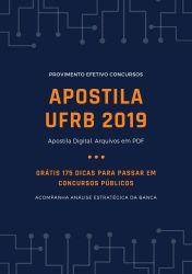 Apostila UFRB Técnico Laboratório Química 2019