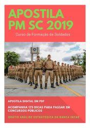 Apostila PM SC SOLDADO 2019