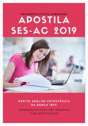 Apostila SES AC PSICÓLOGO 2019