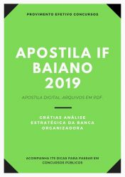 Apostila IF Baiano CONTADOR 2019
