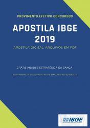 Apostila IBGE Gestão e Infraestrutura 2019