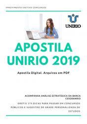 Apostila UNIRIO ECONOMISTA 2019