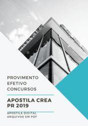 Apostila CREA PR Agente Profissional do Sistema 2019