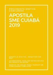 Apostila NUTRICIONISTA SME Cuiabá 2019