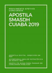 Apostila Oficial Administrativo SMASDH Cuiabá 2019